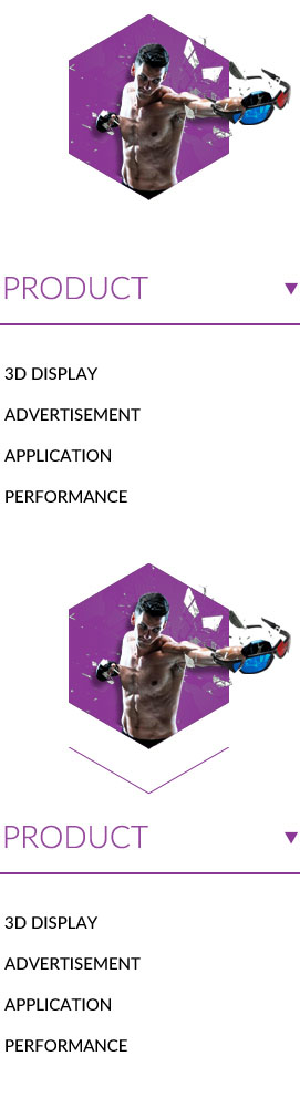 Product 1.3D display 2.Advertisement 3.Application 4.Performance